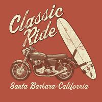 Men's Classic Ride T-Shirt S M L XL 2XL - Surf - Surfing
