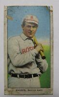 1909 T206 Heinie Wagner Boston Piedmont 150 Baseball Card! Bat On Left Shoulder!