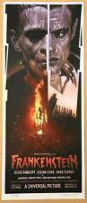 Drew Struzan FRANKENSTEIN Poster MONDO Movie Screen Print 2011 Thing Jaws SDCC