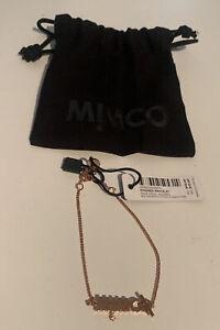 Mimco Kindred Rose Gold Wrist Bracelet RRP $49.95 BNWT