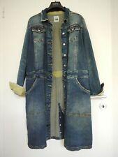 MY TWIN - TWIN SET - SIMONA BARBIERI Mantel Kleid ❤ blau ❤ M/ L ❤ Denim ❤ NP289E