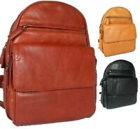 Ladies Girls Trendy Visconti Gina Leather Back Pack Bag Carry Tab Kindle Mobile