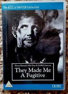 They Made Me A Fugitive (1947) (DVD, 2008) Trevor Howard, Sally Gray