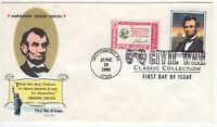 SSS: Fluegel Civil War FDC 1995 32c  American Credo Series  Sc #2975