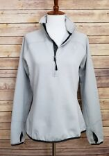 The North Face Polartec 1/4 Zip Fleece lined pullover Jacket Womens size medium
