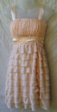 Donna Bella Size 8 Dress NEW+TAG Layered Cocktail Tea Party Evening Occasion