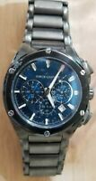 Vince Camuto VC/1065DG Gunmetal Stainless Steel Chronograph Mens Watch