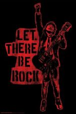 AC/DC - LET THERE BE ROCK POSTER - 24x36 - MUSIC BAND 53377