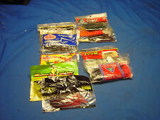 Mix Lot of plastic Twister and other fishing lures