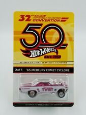 2018 Hot Wheels 32nd Convention #2 Peppermint Twist '65 Mercury Comet Cyclone