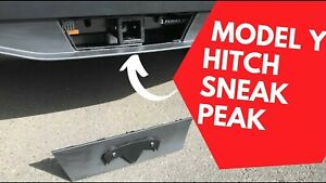 "Tesla Model Y  2"" Tow Trailer Hitch Receiver Case & Keys 1027582-00-A OEM"