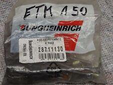 Carbon brushes Kohlebürstensatz Jungheinrich 28711130 Kohlebürsten ET ED ETM150