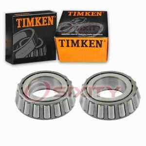 2 pc Timken Rear Differential Bearings for 2000-2011 Ford Crown Victoria lv