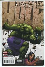 TOTALLY AWESOME HULK #23 - FRANK CHO COVER - MARVEL COMICS/2017