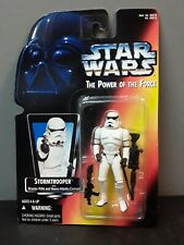 1995 Star Wars Power of the Force Stormtrooper With Blaster Rifle New in Box
