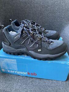 Karrimor ksb Low Profile Walking Hiking Shoes Size 12 Dark Blue