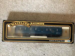 50' Parcels Van BG BR Blur Cat. No. 37117 Mainline Railways. 00 Gauge.