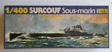 Surcouf French Submarine 1/400 Heller Model Kit 1074