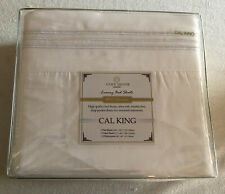 WHITE COSY HOUSE 1500 COLLECTION CAL KING LUXURY BED SHEETS CA. KING NWT 4pc. NR