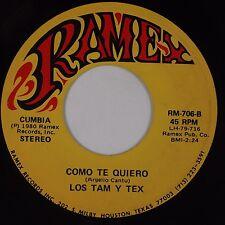 LOS TAM Y TEX: Como Te Quiero RAMEX Latin Cumbia 45 Hear