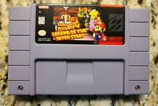 *Authentic* Super Mario RPG: Legend of the Seven Stars SNES Super Nintendo