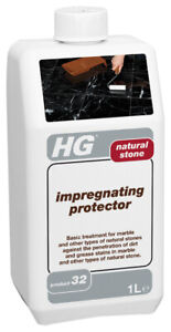 HG Impregnating Protector for Natural Stone (P.32) 1L - Against Grease & Dirt
