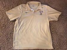 NCAA Valparaiso University Football Polo Short Sleeve Nike Dri-Fit Athletic NEW
