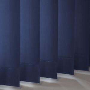 Navy Blue Dim-out Replacement Vertical Slats  (89mm) - Atlantex ASC Navy