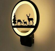 Black Finished Acrylic Modern Led Wall Light Home Bedside Creative Led Wall Lamp