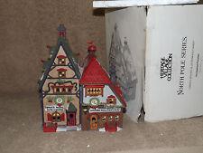 Dept 56 North Pole Obbie's Books & Letrinka's Candy