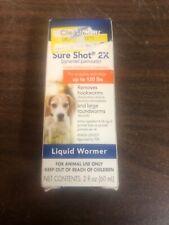 PetArmor Sure Shot 2X Wormer For Dogs, 2 oz 01/20
