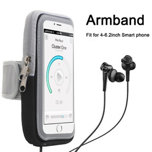 Shockproof Running Armband Holder Bag Case Touchscreen For iPhone 12 11 7 8 Plus