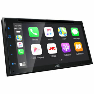 """JVC KW-V660BT Double DIN 6.8"""" Touchscreen In-Dash DVD/CD Car Stereo Receiver"""