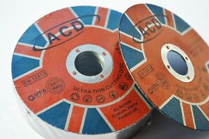 10 X METAL CUTTING / SLITTING DISCS 115MM 4.5 INCH x 1mm x 22mm ultra thin