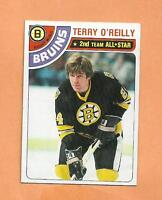 TERRY O'REILLY  TOPPS 1978-79 CARD # 40 BRUINS