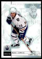 2002-03 Upper Deck Mask Collection Tommy Salo Mike Comrie #36