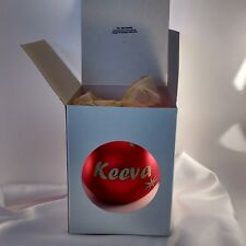 Personalized Christmas baubles European glass in display box $19 top quality.