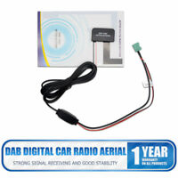 New DAB Digital Car Radio Aerial Antenna Glass Mount For Pioneer+fakra Adapter