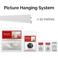 Picture Hanging System Bundle - Covers 10m (32 1/2ft) of Gallery Space