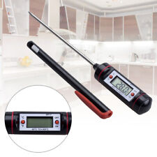 Digital Kitchen Probe Thermometer Food Cooking Bbq Meat Steak Turkey Wine