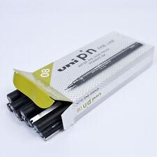Uni-Ball Pin - 0,8 mm dessin Pen (pack de 12)