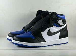 Nike Air Jordan 1 Retro High Royal Toe 555088-041 Size 12 FREE SHIPPING