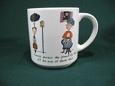 Vtg A Bad Luck Day Funny Humor Collectors Coffee Mug Cup Carlton Cards Mugs MINT