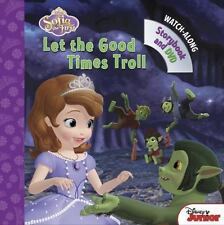 Sofia the First Let the Good Times Troll: Book with DVD by Disney Book Group (En