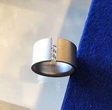 Niessing Abakus Ring - Stainless Steel Size 3 (US 6.5)
