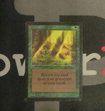 1 Regrowth - Beta MtG Magic Green Uncommon old school 93/94 #9928