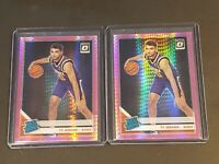 2019 Panini Donruss Optic Pink Hyper Prizm Lot of 2 Ty Jerome RC Rookie