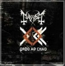 MAYHEM 'ORDO AD CHAO' CD BLACK METAL NEW!