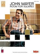 JOHN MAYER ROOM FOR SQUARES GUITAR TAB SONG BOOK
