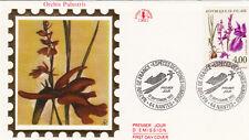 Enveloppe 1er Jour NANTES 12/09/1992 orchis des marais timbrée